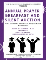 ANNUAL PRAYER BREAKFAST AND SILENT AUCTION