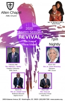 Rev. Matthew L. Watley - Lenten Season - Revival